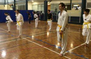 Regular taekwondo class