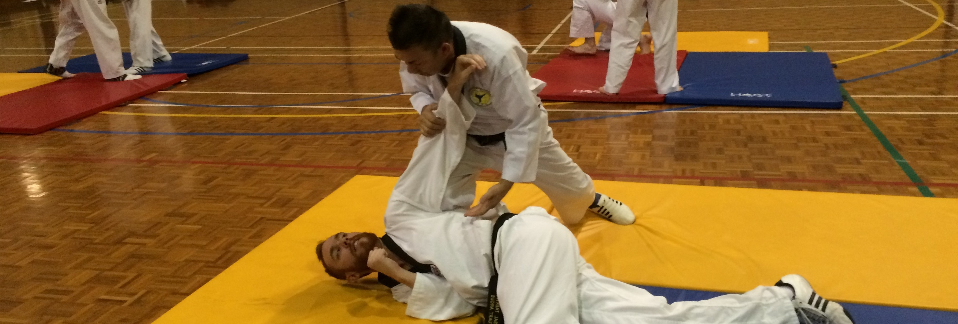 learn self defence at scarborough universal taekwondo